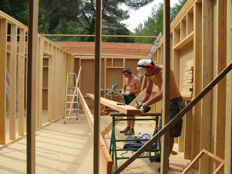 Faires des extensions de maison en autoconstruction for Comment construire maison en bois